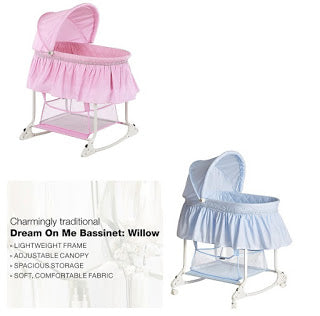 Dream On Me Willow Bassinet $33.99 + Free Shipping