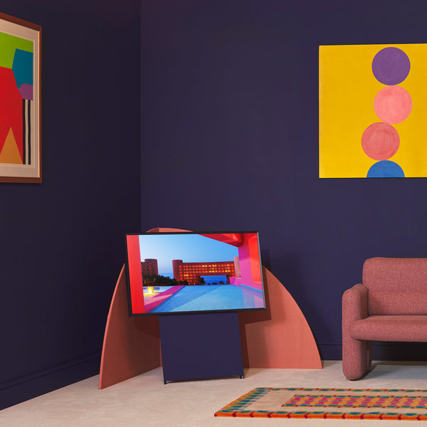 Samsung has released LivingColour, a collection of six paints designed to provide harmonious backdrops to three of the company's television models – The Serif, The Sero and The Frame.