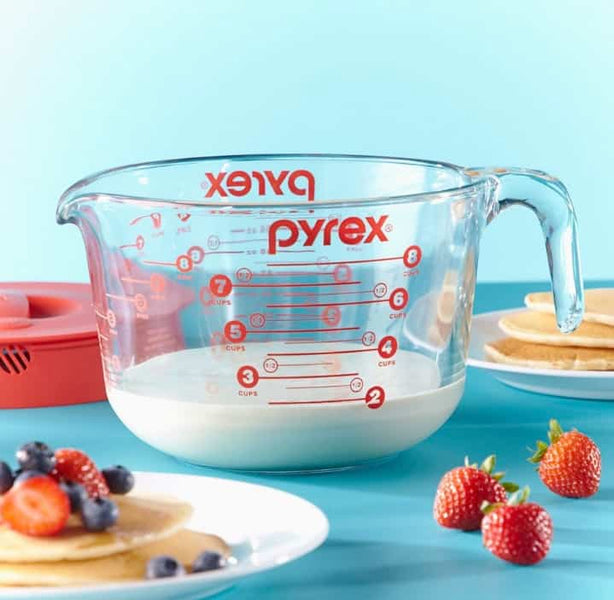 Grab this ever popular Pyrex Measuring Cup with Lid for under $19 today! This is great to have for Holiday baking