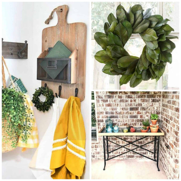 Paddle Board Rack with Basket + More Farmhouse Decor Steals