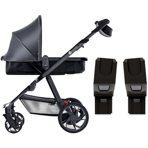 4moms Moxi Stroller With Maxi-Cosi Car Seat Adapter