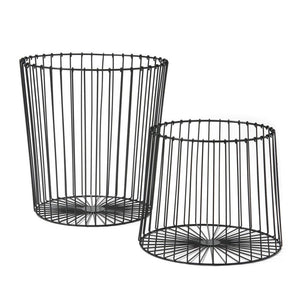 Black Nesting Basket Set