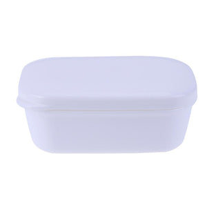 1pc Home Travel Soap Box Soap Holder with Lid Seal Leak-proof Dish Drain Layer Portable Case Storage Basket Bathroom Products