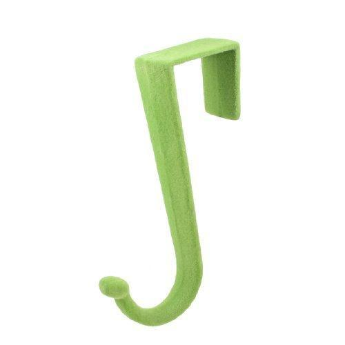 Related dealmux green plush coated plastic over door hooks hanger storage holder
