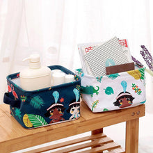Load image into Gallery viewer, Cotton Linen Storage Basket Dirty Clothes Basket