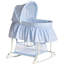 Load image into Gallery viewer, Dream On Me Willow Bassinet, Sky Blue