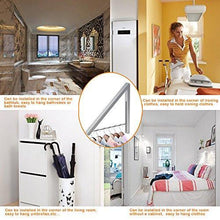 Load image into Gallery viewer, Storage anjuer wall mounted drying rack clothes hanger folding wall coat racks aluminum home storage organiser space savers