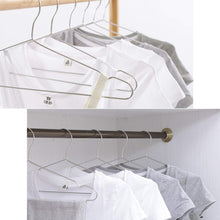 Load image into Gallery viewer, Shop here origa 20 pack stainless steel strong metal wire hangers 16 5 inch coat hanger standard suit hangers clothes hanger