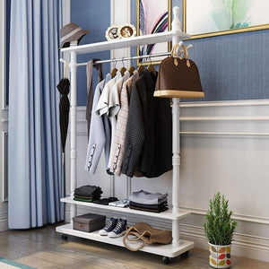 Kitchen cdgf zw living room coat rack bedroom coat rack stand shoe rack corridor coat rack hat hanger vertical handbag storage rack coat stand size 105cm
