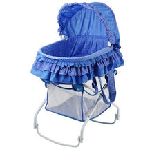 Load image into Gallery viewer, Dream On Me 2 in 1 Bassinet to Cradle in Blue - 440B