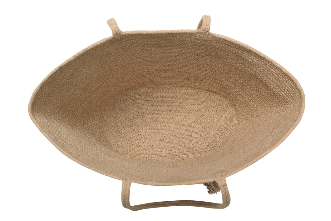 Basket Cistell in Linen in multiple sizes design by Lorena Canals