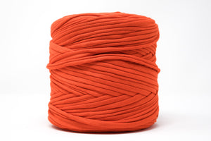 FABRIC YARN - BAMAKO (ORANGE-RED COLOR)