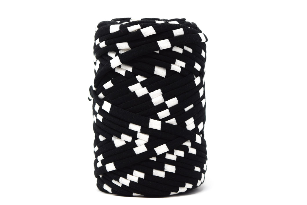 FABRIC YARN - SOPHIA (BLACK AND WHITE PRINT)