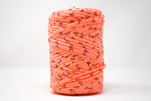 FABRIC YARN - MADELYN ( ORANGE WITH PRINT)