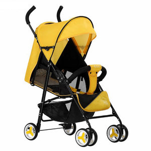 High Landscape Ultra-light Foldable baby Infant Four-wheel Strollers