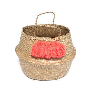Storage . Belly Basket - Tassel / Large