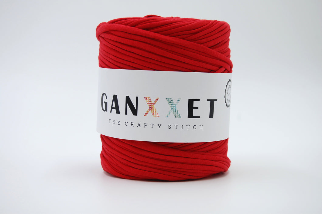 FABRIC YARN - NEW YORK (RED COLOR)