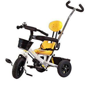 &Baby Pushchair Baby Trike,All-Terrain Stroll Trike Ride On Perfect Fit 4-in-1 Trike (Color : F)