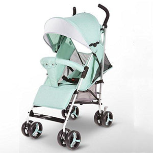 &Baby Stroller Baby Stroller Light high Landscape Key to fold The car Easy to fold to sit Reclining Umbrella (Color : 2#)