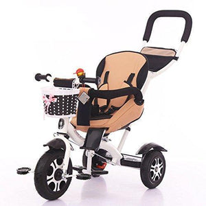 &Baby Stroller Children Tricycle Baby Kids Ride On Smart Design Foam Wheel (Color : 1#)