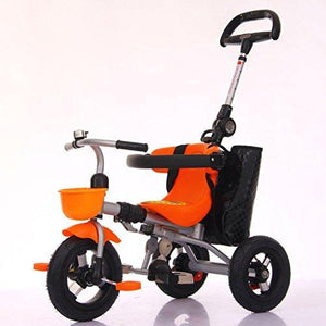 &Baby Stroller Children's Tricycle Baby Stroller Collapsible Baby Stroller 1-3-5 Years Old Trolley (Color : 3#)