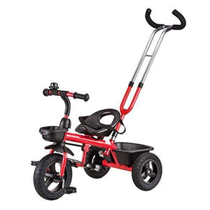 &Baby Stroller Children's Tricycle Bicycle Baby/Kid Bicycle 2-4-6 Years Old/Titanium Empty Wheel (Color : 4#)