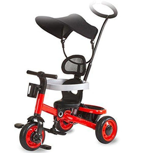 &Baby Stroller Children's Tricycle Multifunction Bicycles Themselves 1-3 Years Old Baby Carriage
