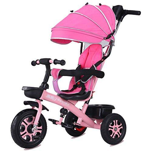 &Baby Stroller Stroll Trike Children's Tricycle Bicycle 1-3-5-2-6 Years Old Titanium Empty Wheel (Color : 2#)