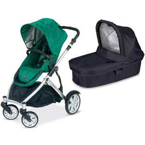 Britax B-Ready Stroller with Bassinet - Green