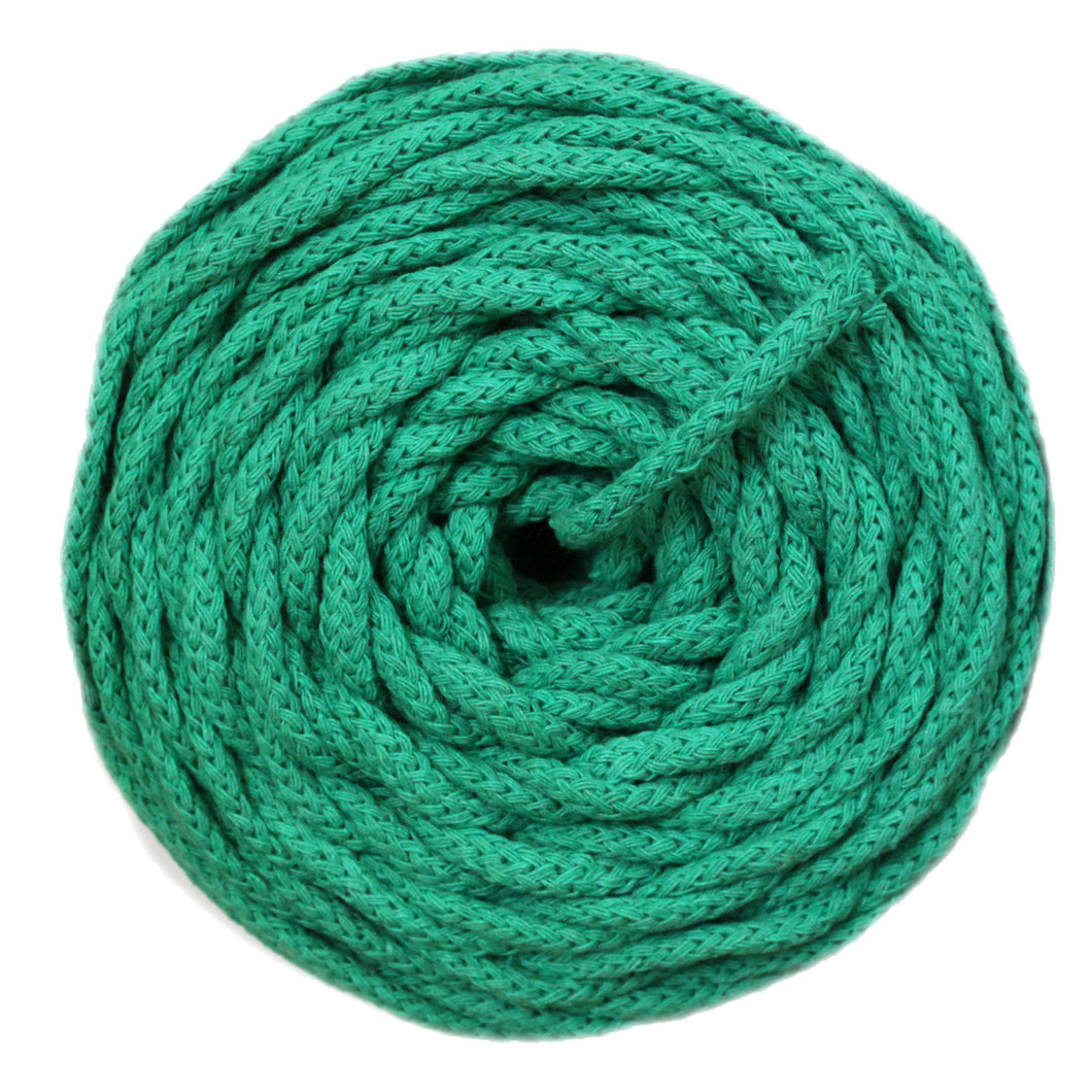 COTTON AIR CORD 4.5 MM - CLOVER GREEN COLOR