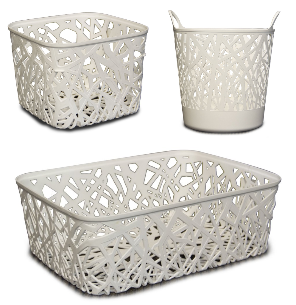 Nest Basket Bundle (3 Piece Set)