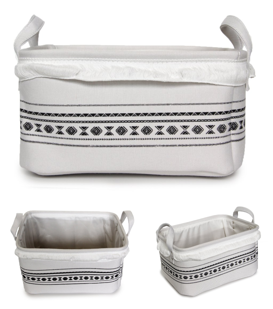 Canvas Storage Basket (3 Piece Set)