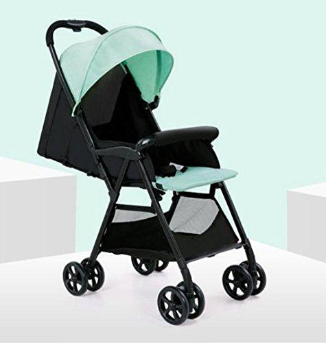 &Folding cart Baby Carriage Portable Folding Ultralight Children Mini Umbrella (Color : 2#)