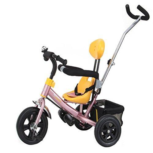 &Folding cart Baby Trike,All-Terrain Stroll Trike Ride On Perfect Fit 4-in-1 Trike (Color : A)
