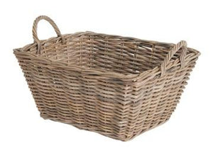 Wicker  Rectangular Basket