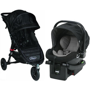 Baby Jogger City Mini GT Travel System - Black/Gray