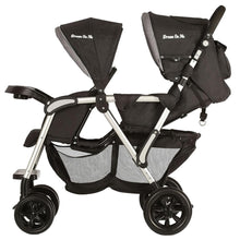 Load image into Gallery viewer, Dream On Me Villa Tandem Stroller - Grey