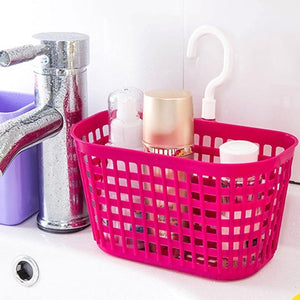 1 Pc Bathroom Basket Holder Cleanser Shampoo Container Cosmetic Seasoning Organizer