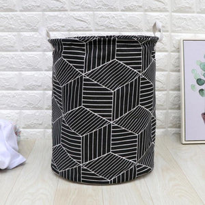 1 Pc Waterproof Folding Laundry Basket Clothes Storage Barrel Standing Kids Toys Bucket Laundry Organizer