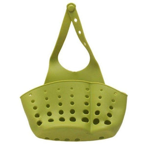 1pc Multifunction Storage Basket Adjustable Button Faucet Hanging Storage Basket Home High Quality