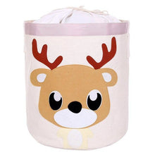 Load image into Gallery viewer, 2019 New cartoon Children's toys storage box folding laundry basket sundries Storage basket clothes storage bucket Organizer