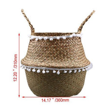 Load image into Gallery viewer, Handmade Woven Storage Basket
