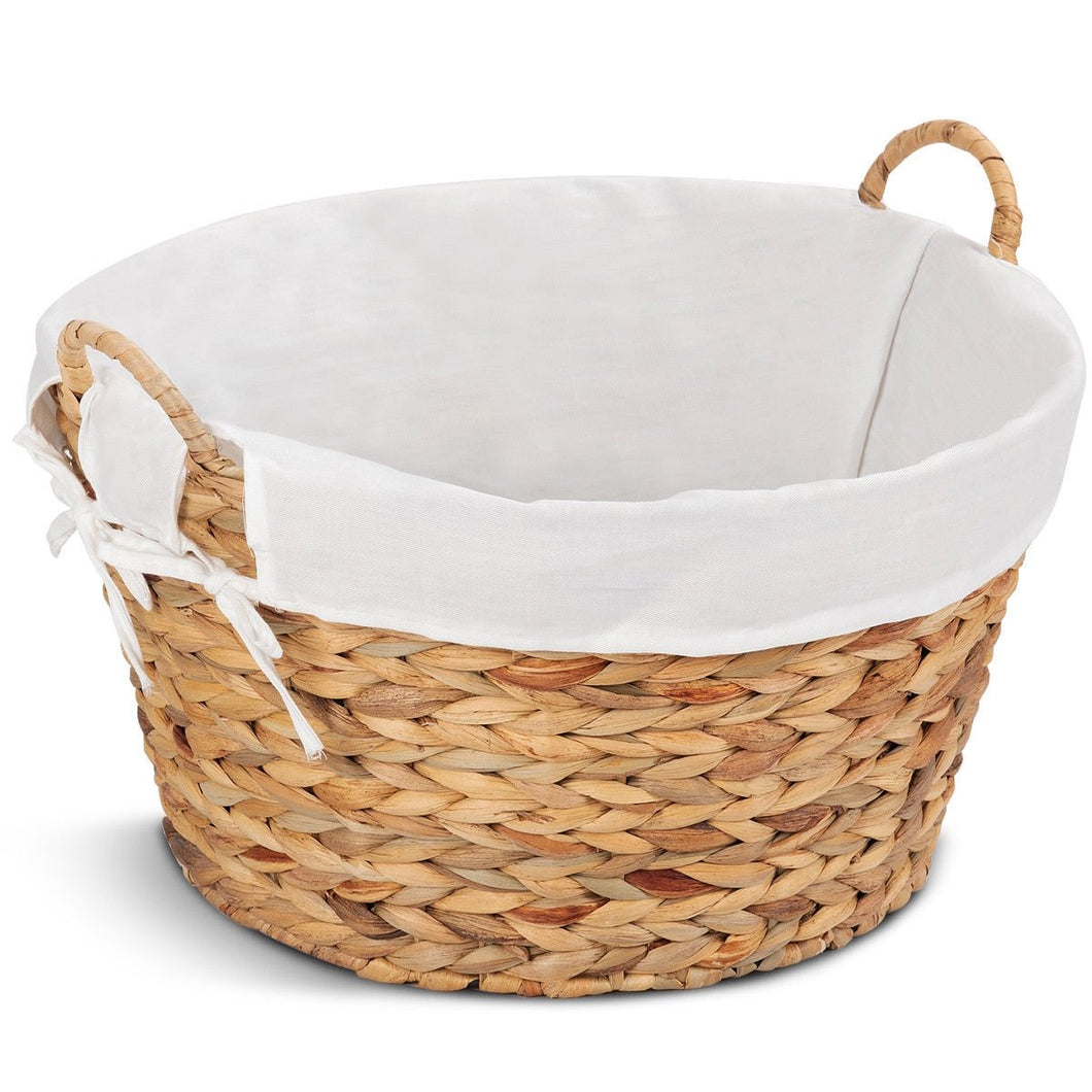 Set of 2 Large Seagrass Laundry Storage Basket