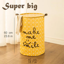 Load image into Gallery viewer, Laundry Basket  Washing Dirty Bin Super Large Cotton Bag Clothes Organizer
