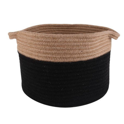 Black Storage Baskets Set Of 3