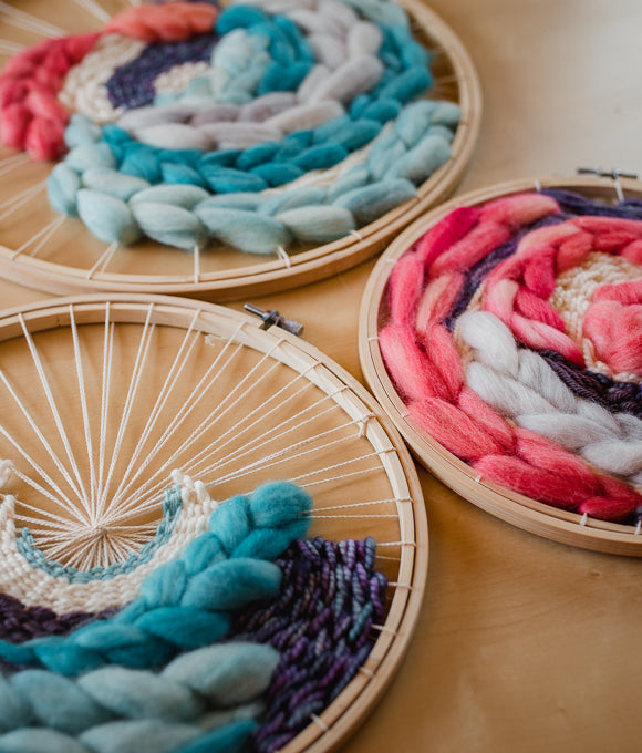 Circle Weaving Project