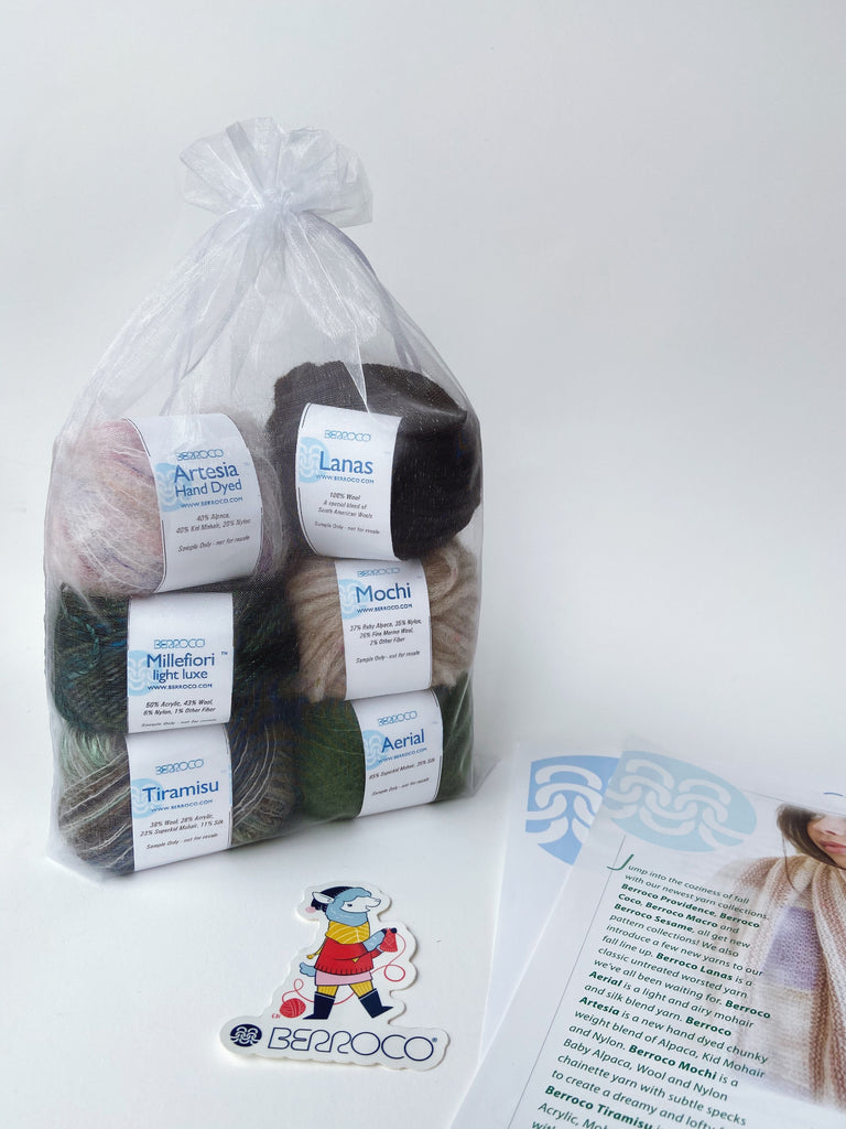 Berroco Yarn Tasting Kit