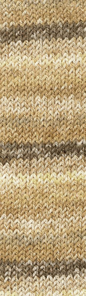 Lana Mia Cotone - 2309 Coffee, Brown, Yellow