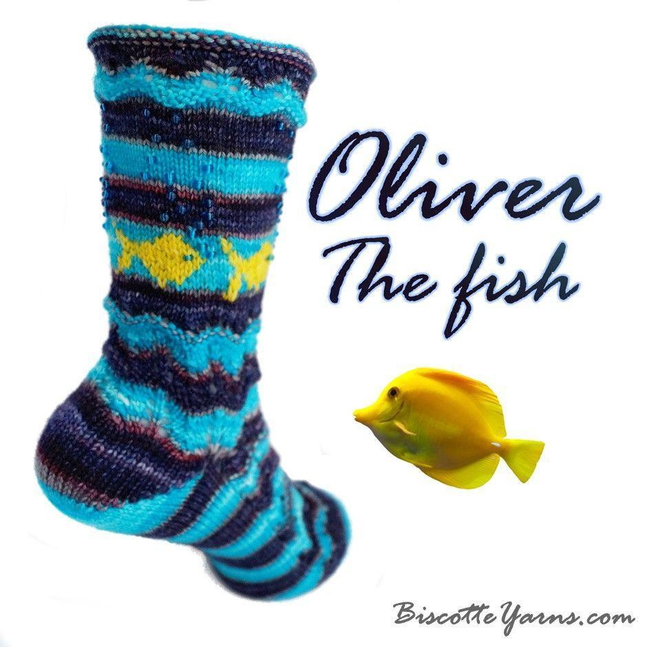 Bis Sock - Oliver the Fish