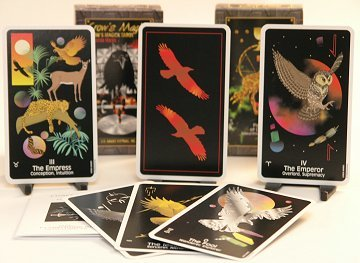CROWS MAGIC TAROT DECK